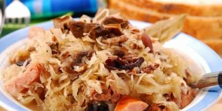 Тушеная капуста по-баварски: непостный рецепт