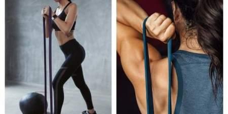 Разнообразь тренировки: упражнения с резиной для фитнеса
